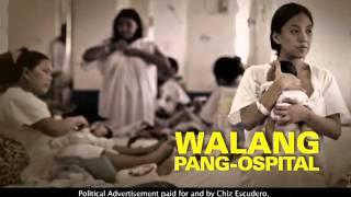 CHIZ ESCUDERO WALANG PANG OSPITAL 15s