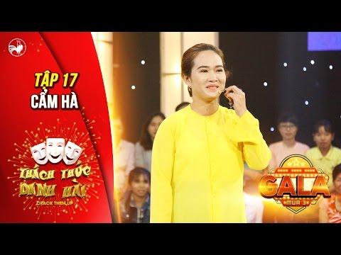 cô giáo youtube Cẩm Hà dập Ngô Kiến Huy tơi tả tại Thách thức danh hài mùa 3 gala 3