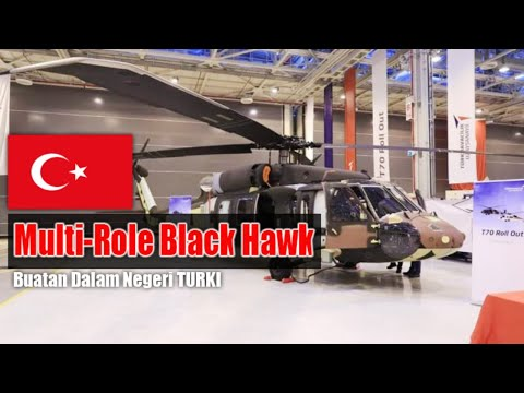 Helikopter Multi Role Black Hawk...