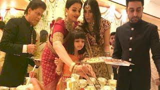Shahrukh Khan, Aishwarya Rai, Abhishek Bachchan Serving Food At Isha Ambani Wedding