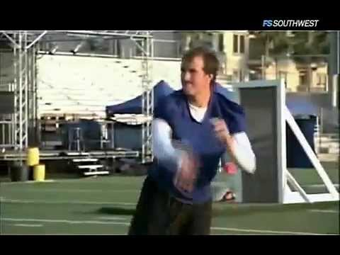 Sport Science (TV Series) - http://bit.ly/wFVjqr - ESPN's Sport Science breaks down the athletic excellence of New Orleans Saints quarterback and Super Bowl MVP Drew Brees. Click on the...