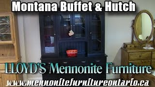 Mennonite Montana Buffet and Hutch