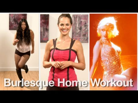 burlesque dance - PopSugar LivingTV: http://living.popsugar.tv/ Twitter: http://twitter.com/popsugartv To get Christina Aguilera's Burlesque body, we turned to choreographer, ...