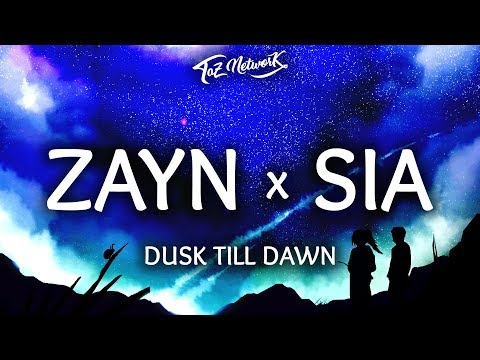 gratis download video - ZAYN--Dusk-Till-Dawn-Lyrics--Lyrics-Video-ft-Sia