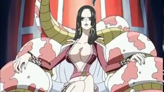 Luffy's haki on Amazon Lily