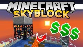 SkyBlock 04 | EASY MONEY MAKING! • | Minecraft