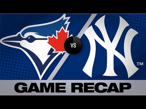Video: Smoak's 2-run homer in 7th lifts Blue Jays | Blue Jays-Yankees 9/20/19