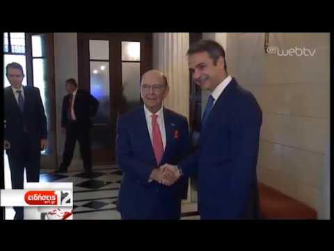 Συνάντηση του Πρωθυπουργού με τον Αμερικανό Υπουργό  Εμπορίου | 05/09/2019
