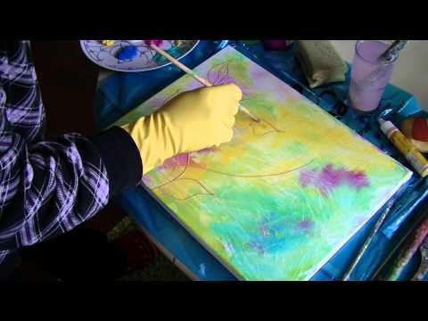 Acrylmalerei für Anfänger | Acrylic Painting for Beginners