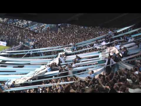 Racing 0 - 0 Central - No me arrepiento de este amor - La Guardia Imperial - Racing Club