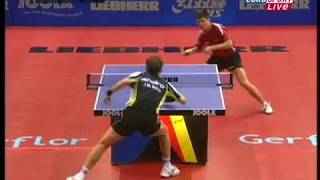 ITTF World Cup Table Tennis  Ovtcharov и  Saive