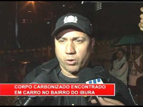 [RONDA GERAL] Corpo carbonizado é encontrado em carro no bairro do Ibura
