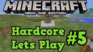 Minecraft Xbox One / PS4 Hardcore #5 - Spruce Trees and Chest Storage