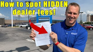 Video 9 fees to NEVER pay a car dealership.  Tips on car buying,  how to negotiate, and how to buy a car. MP3, 3GP, MP4, WEBM, AVI, FLV Juli 2019