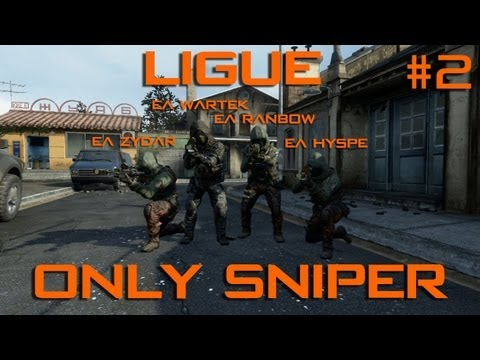 Ligue only Sniper...40 avec la eAxis ! #2