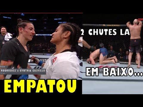 Marina Rodriguez empatou com Cynthia Calvillo / Struve nocauteado / Resultados do UFC Washington