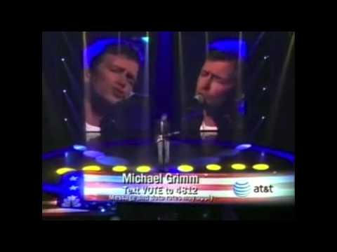 "Michael Grimm - America's Got Talent Wk3 ""Tired Of Being Alone"""