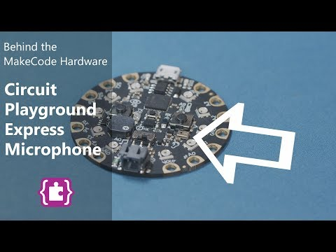 Microphone on Circuit Playground Express