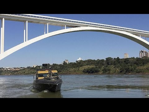 Δρακόντεια μέτρα ασφαλείας στα σύνορα της Βραζιλίας με Παραγουάη και Αργεντινή