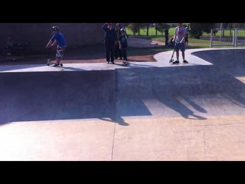 Muswellbrook Skatepark (Hunter Valley, NSW Australia)