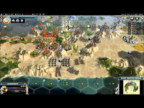 PBEM 67 Deutschland Runde 80 - Civilization V