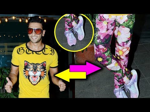 Ranveer Singh UNBELIEVABLE Quirky Outfit At Gully