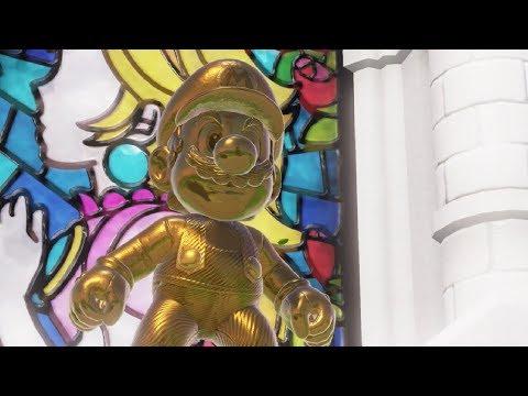 MARIO DORADO en Super Mario Odyssey Español