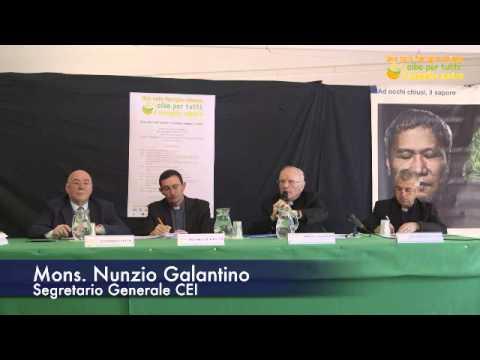 L'intervento di Mons. Nunzio Galatino al seminario Cibo per Tutti 2015