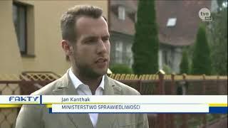 Nic lepszego dziś nie obejrzycie. W roli głównej Jan Kanthak- rzecznik prasowy Ministerstwa Sprawiedliwości