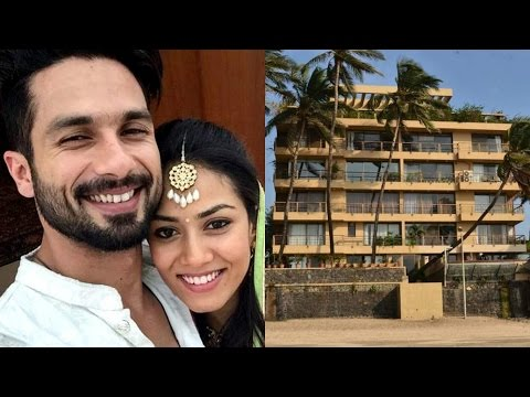Shahid Kapoor And His Wife Spoted At His House