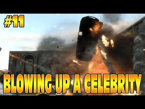 GTA 5 STORY: BLOWING UP A CELEBRITY & HACKING! #11 Grand Theft Auto 5 Funny Moments