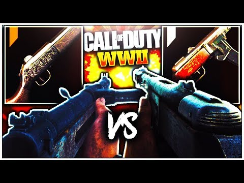 EPIC PPSH-41 vs EPIC TYPE 100! BEST EPIC SMG in COD: WWII COMPARISON (WW2 BEST SMG)
