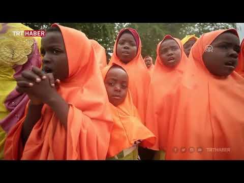TDV gönüllüleri Zanzibar'da ilahilerle karşılandı