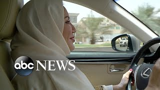 Women in Saudi Arabia now allowed to drive after longstanding ban lifted