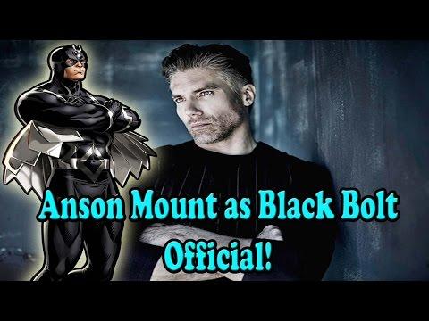 Marvel's Inhumans Series Casts Anson Mount as Black Bolt!