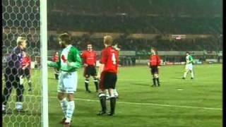 Schmeichels unglaubliche Parade gegen den SK Rapid Wien (1996)