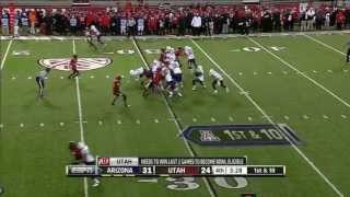 Austin Hill vs Utah (2012)