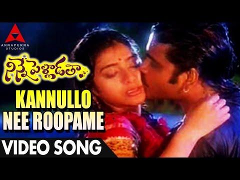 Video Kannullo Nee Roopame Video Song - Ninne Pelladatha Movie - Nagarjuna,Tabu download in MP3, 3GP, MP4, WEBM, AVI, FLV January 2017