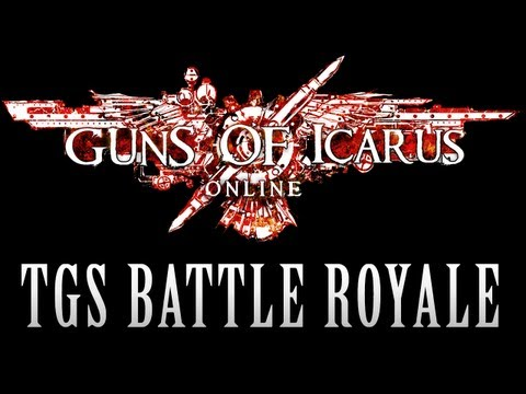 royale - Guns Adventure Mode Kickstarter http://tiny.cc/gunsoficarusTB 'til May 20th! Welcome to the TGS Guns of Icarus Battle Royale, where flying ships face off in ...