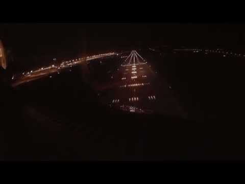 FROM THE FLIGHT DECK | NIGHT LANDING AT ATHENS AIRPORT | AEGEAN A321 | [HD]