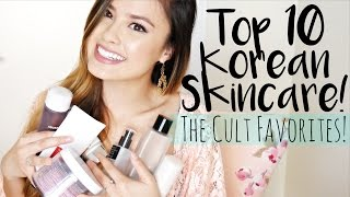 Top 10 BEST Korean Skincare | The Cult Faves, Must Haves and Favorites!