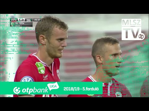 5. forduló: DVTK - Haladás 1-0 (1-0)