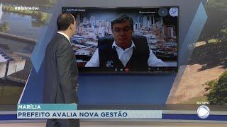 Prefeito de Marília, Daniel Alonso, avalia os 100 primeiros dias do segundo mandato