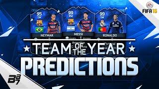 TOTY PREDICTIONS w/ RONALDO MESSI AND NEYMAR! | FIFA 16 Team Of The Year, neymar, neymar Barcelona,  Barcelona, chung ket cup c1, Barcelona juventus
