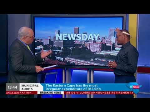 The country's municipal audit analysis by Khaya Sithole