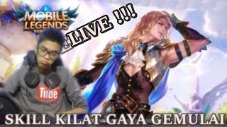 Video 🔴 [ LIVE ] Di Buang Sayang Di Naikin Kaga Naek Naek - Mobile Legends Bang Bang MP3, 3GP, MP4, WEBM, AVI, FLV Oktober 2017