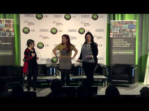 OMDC Digital Dialogue 2015 WearableTech Demo – Loretta Faveri (CEO, Sonicwear)