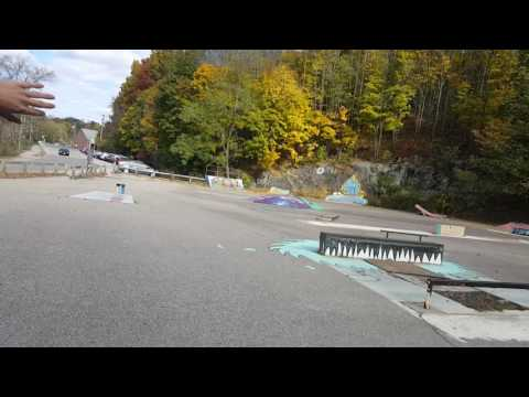 Dover Skate Park - Diy - mini ramp - Nh