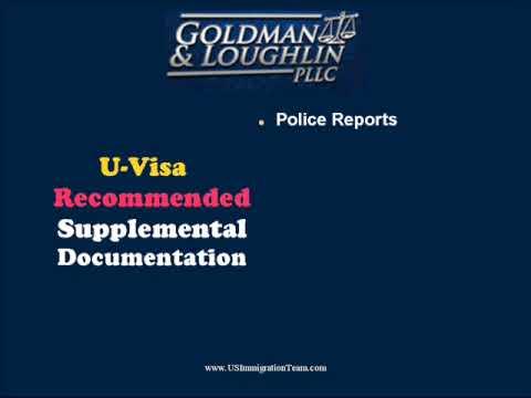 U Visas: U Visa Application Information