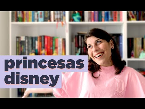 PRINCESAS DA DISNEY | BOOK TAG | BOOK GALAXY